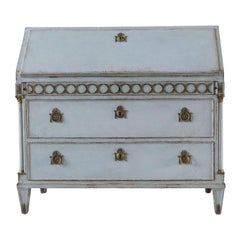 Early 19th Century Gustavian Bureau or Writing Desk
