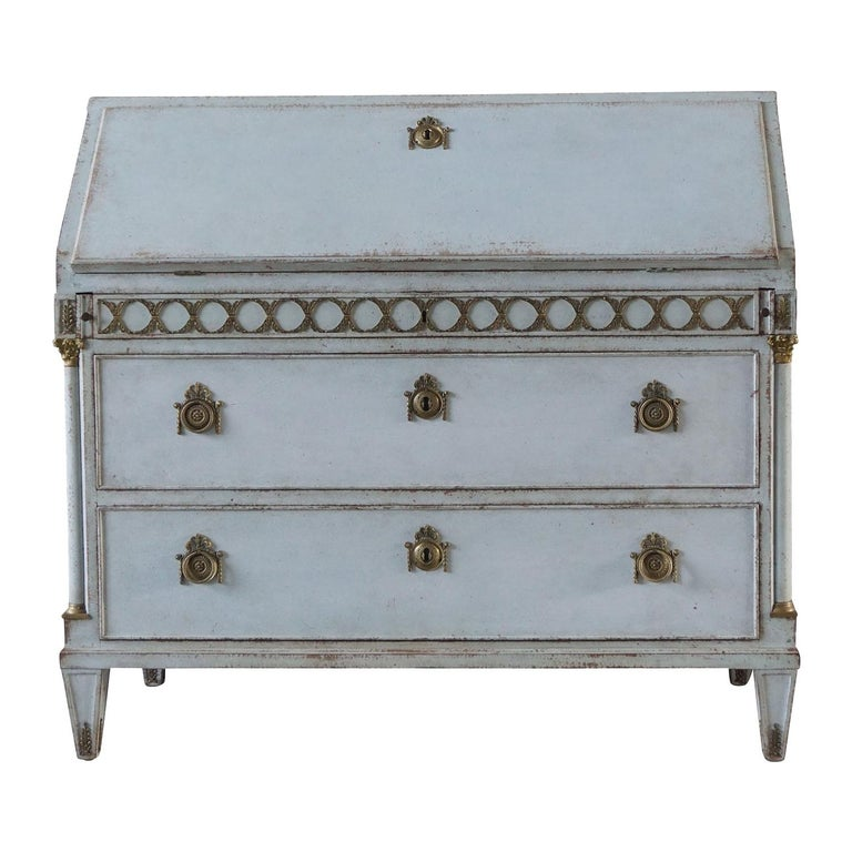 Early 19th Century Gustavian Bureau or Writing Desk For Sale