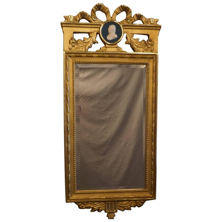 Early 19th Century Gustavian Mirror For Sale
