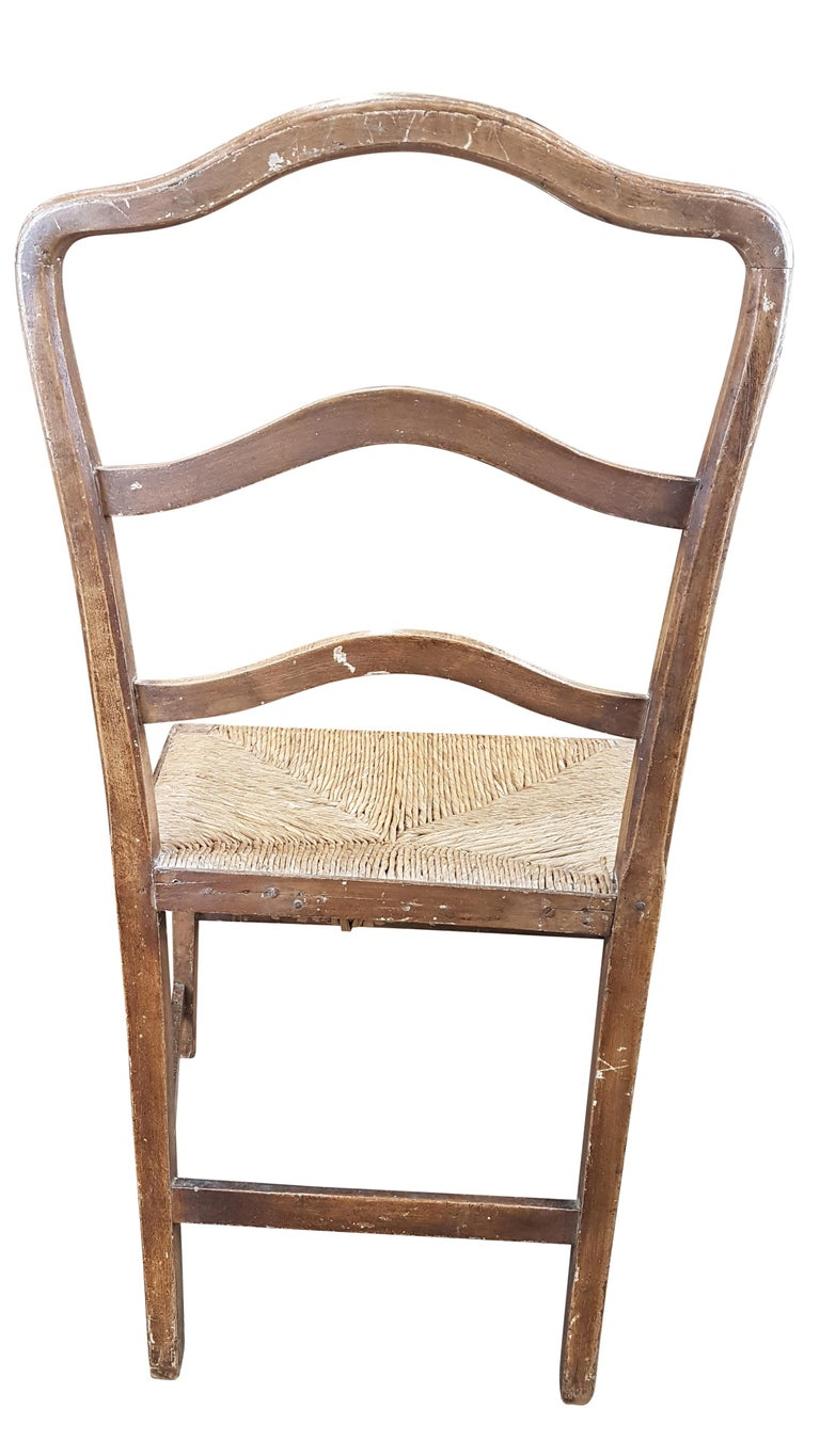Early 19th Century Georgian Chair in Original Painted Decoration For Sale 6