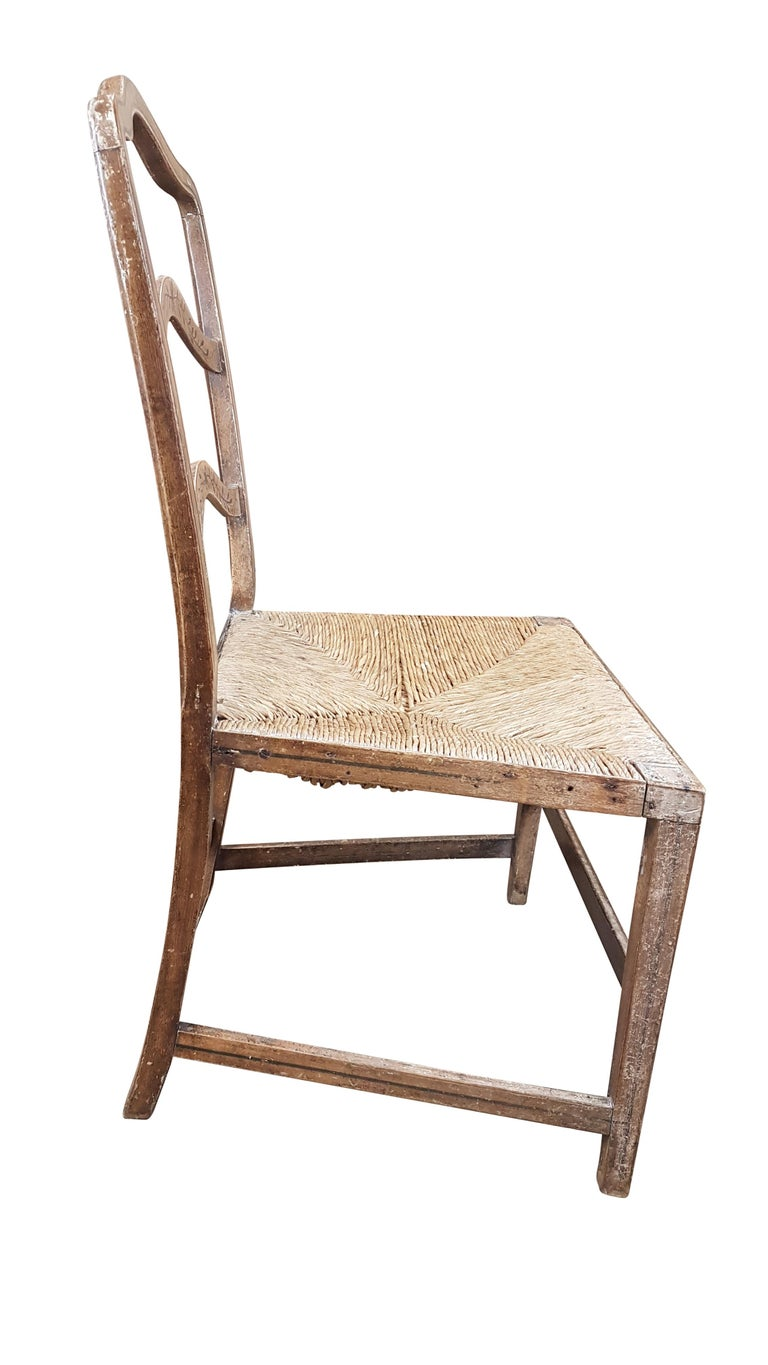 Early 19th Century Georgian Chair in Original Painted Decoration For Sale 3