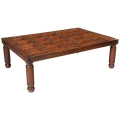 Early 19th Century Indian Door Coffee Table