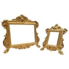 Early 19th Century Italian Louis XV Style Altar Giltwood Frames