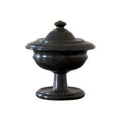 Early 19th Century Italian Marble Lidded Urn