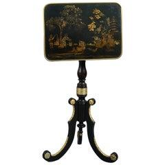 Early 19th Century Late George III Chinoiserie and Ormolu Metamorphic Table