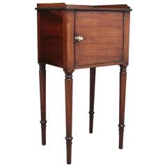 Early 19th Century Mahogany Bedside Cabinet