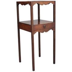 Early 19th Century Mahogany Bedside Table