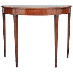 Early 19th Century Mahogany Console Table