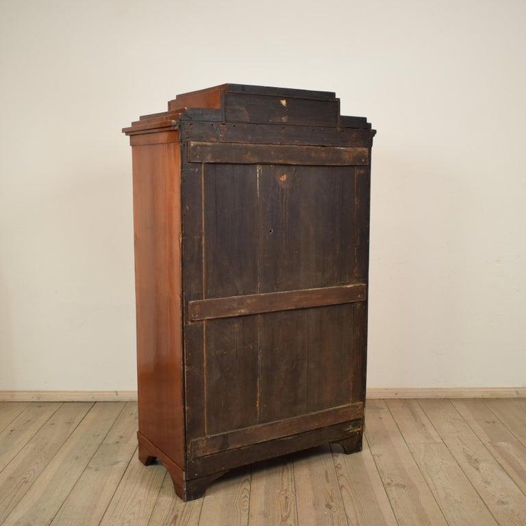 Early 19th Century Mahogany Empire Secretary For Sale 1