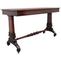 Early 19th Century Mahogany Library Table
