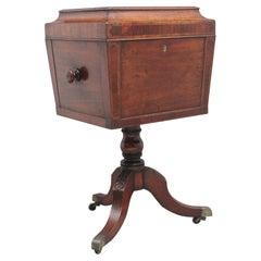 Early 19th Century Mahogany Teapoy