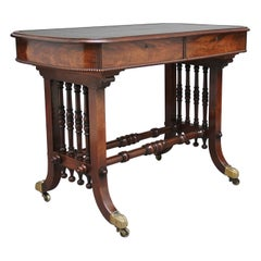 Early 19th Century Mahogany Writing Table