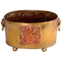 Early 19th Century Massive Copper Container, Originally for Cream