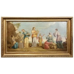Early 19th Century Musical Nymphs Painting