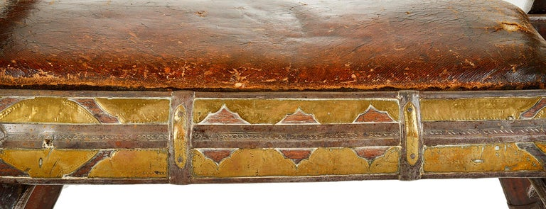 Early 19th Century Napoleonic Camel Seat For Sale 1