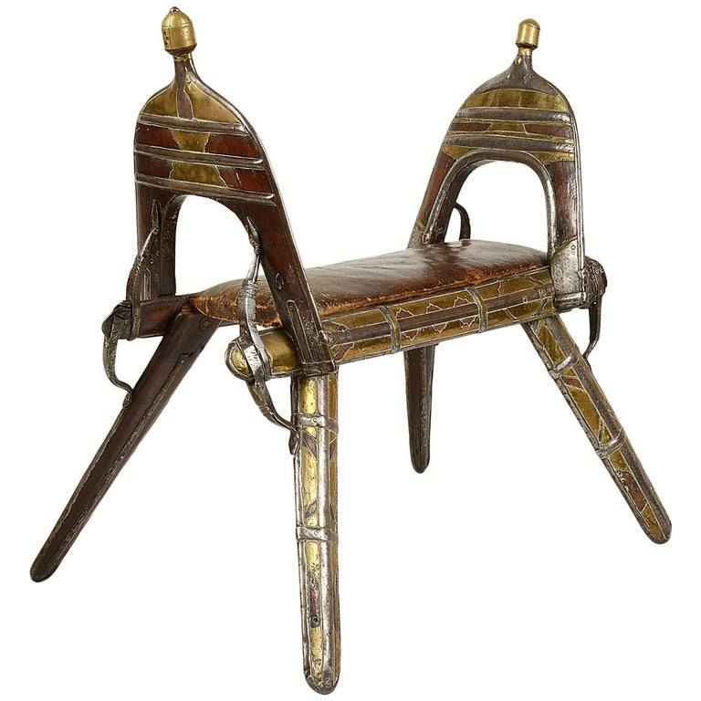 Early 19th Century Napoleonic Camel Seat For Sale