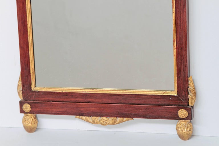 English Early 19th Century Neoclassic Mirror For Sale