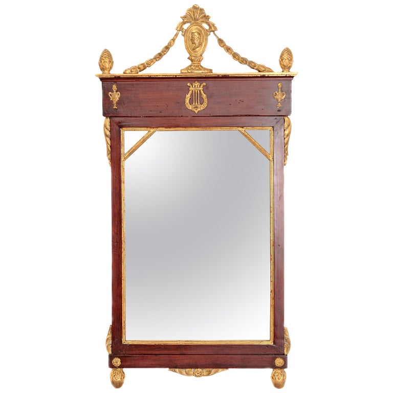 Early 19th Century Neoclassic Mirror For Sale
