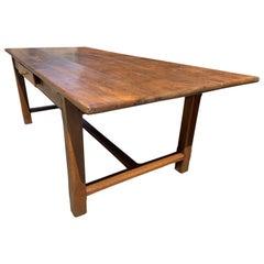 Early 19th Century Oak Farmhouse Table