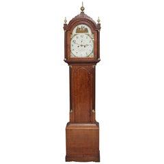 Early 19th Century Oak Grandfather Clock