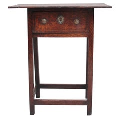 Early 19th Century Oak Side Table