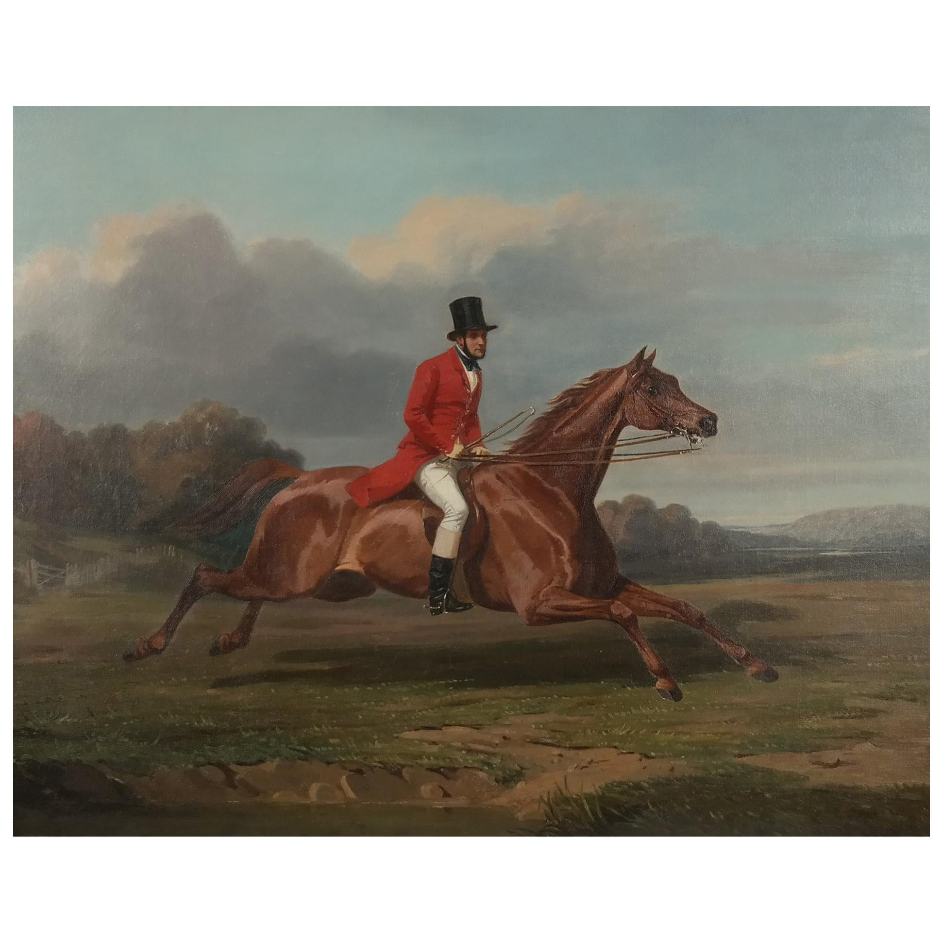 Early 19th Century Oil on Canvas