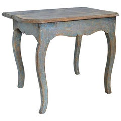 Early 19th Century Original Paint Swedish Provincial Table