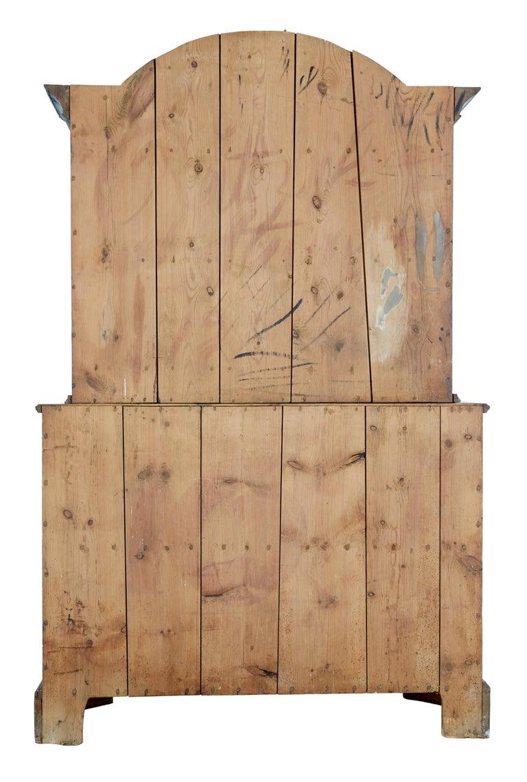 Early 19th Century Original Painted Tuna Region Swedish Cabinet In Good Condition For Sale In Debenham, Suffolk