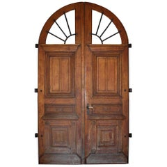 Early 19th Century Pair of French Exterior Doors