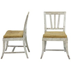 Early 19th Century Pair of Gustavian Chairs