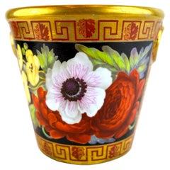 Early 19th Century Paris Porcelain Brush Pot