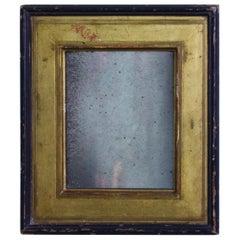Early 19th Century Petite Regency Gilt and Ebonized Mercury Mirror