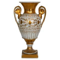 Early 19th Century Porcelain Vase, Paris