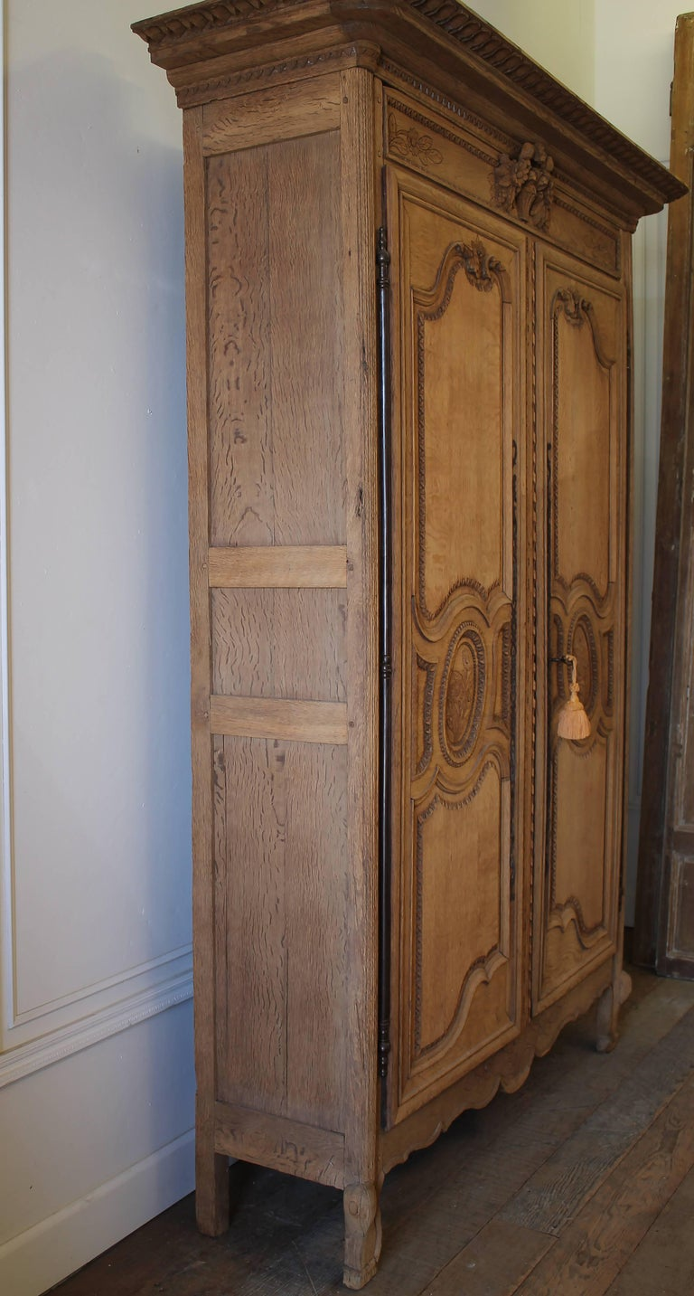 Early 19th Century Raw European Quarter Sawn White Oak