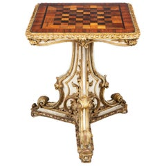 Early 19th Century Regency Games Table