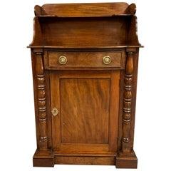 Early 19th Century Regency Mahogany Chiffonier Cabinet