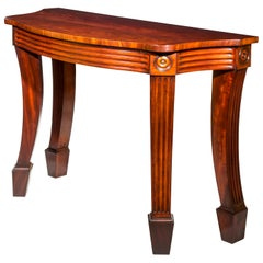 Early 19th Century Regency Mahogany Console Table or Pier Table