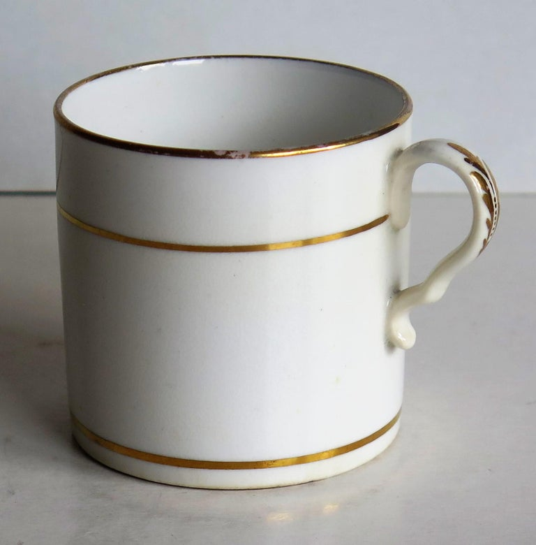 Early 19th Century Regency Period Spode Porcelain Coffee Can Pattern 341 For Sale 5