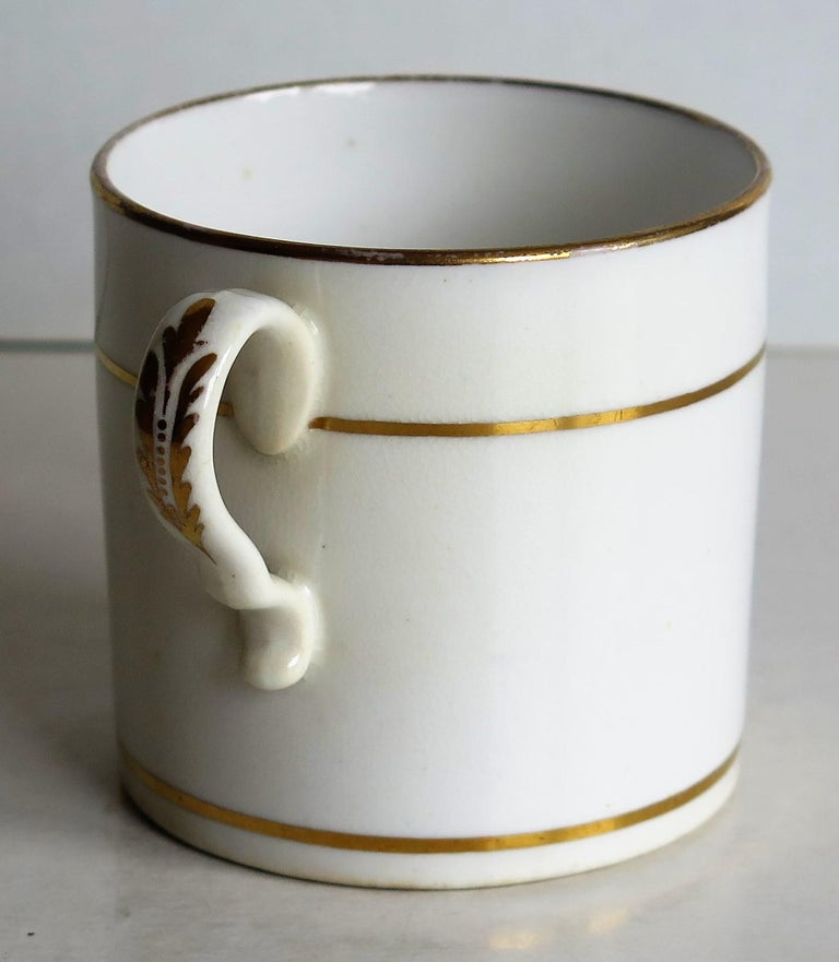 Early 19th Century Regency Period Spode Porcelain Coffee Can Pattern 341 For Sale 6