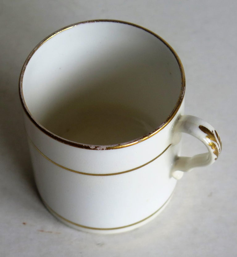 Early 19th Century Regency Period Spode Porcelain Coffee Can Pattern 341 For Sale 7