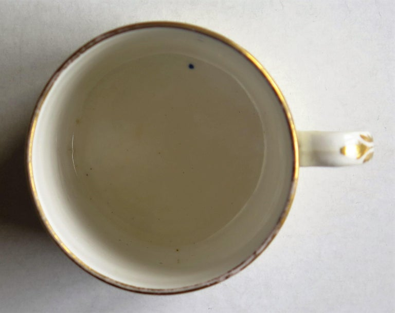 Early 19th Century Regency Period Spode Porcelain Coffee Can Pattern 341 For Sale 8