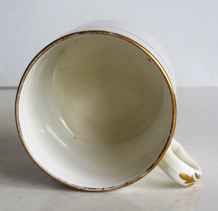 Early 19th Century Regency Period Spode Porcelain Coffee Can Pattern 341 For Sale 9