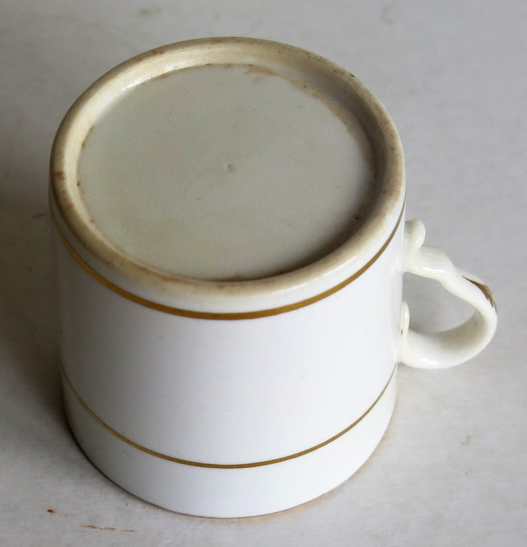 Early 19th Century Regency Period Spode Porcelain Coffee Can Pattern 341 For Sale 10