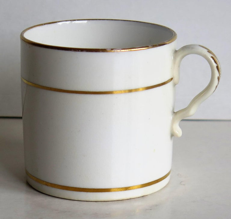 English Early 19th Century Regency Period Spode Porcelain Coffee Can Pattern 341 For Sale