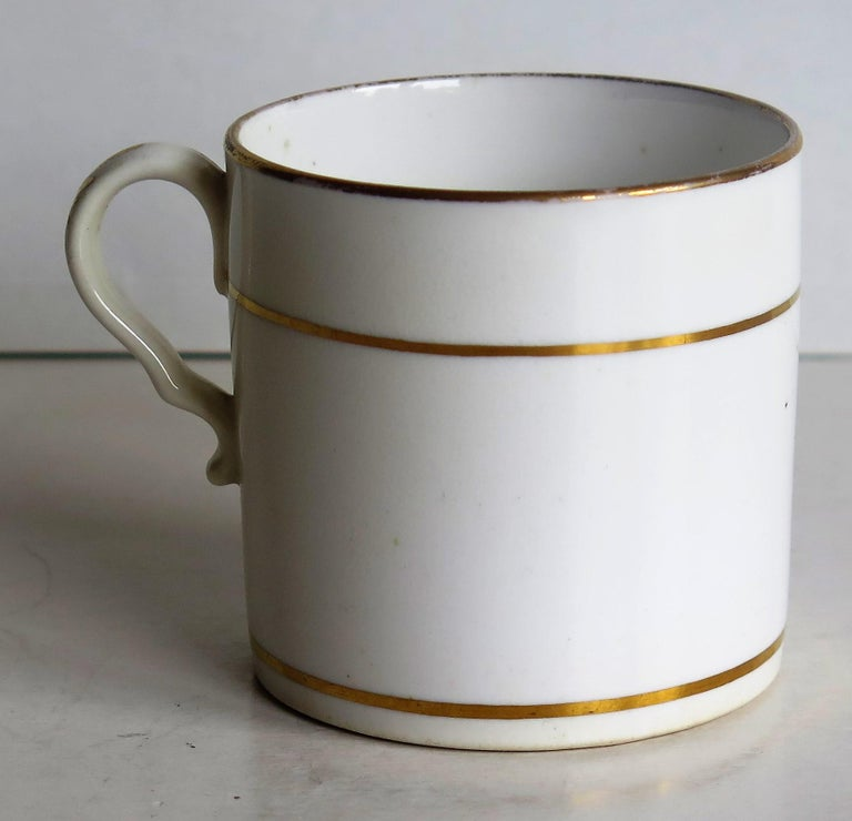 Early 19th Century Regency Period Spode Porcelain Coffee Can Pattern 341 For Sale 2