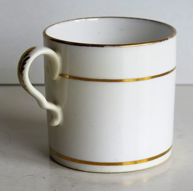 Early 19th Century Regency Period Spode Porcelain Coffee Can Pattern 341 For Sale 3