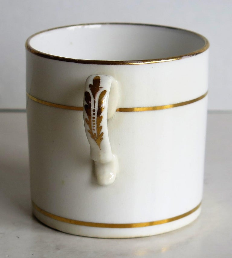 Early 19th Century Regency Period Spode Porcelain Coffee Can Pattern 341 For Sale 4