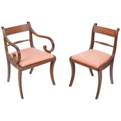 Early 19th Century Regency Set of Ten Dining Chairs