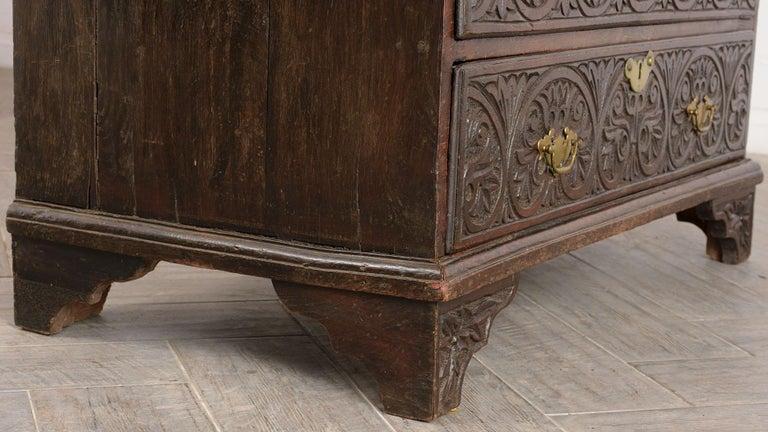 Early 19th Century Renaissance Style Slant Front Desk For Sale 3