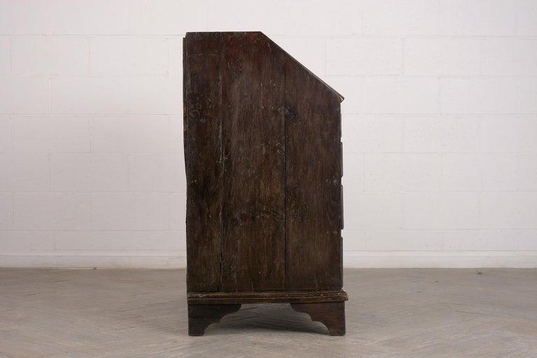 Early 19th Century Renaissance Style Slant Front Desk For Sale 2